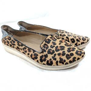 Kenneth Cole Reaction Leopard Slip-on Sneakers